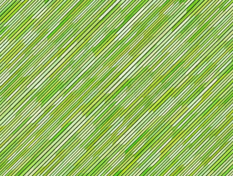 Πολλά πράσινα υπόβαθρα ραβδιών μπαμπού απεικόνιση αποθεμάτων