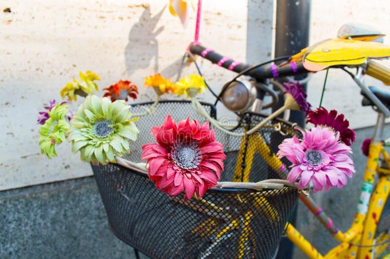 ποδήλατο που διακοσμε στοκ φωτογραφίες