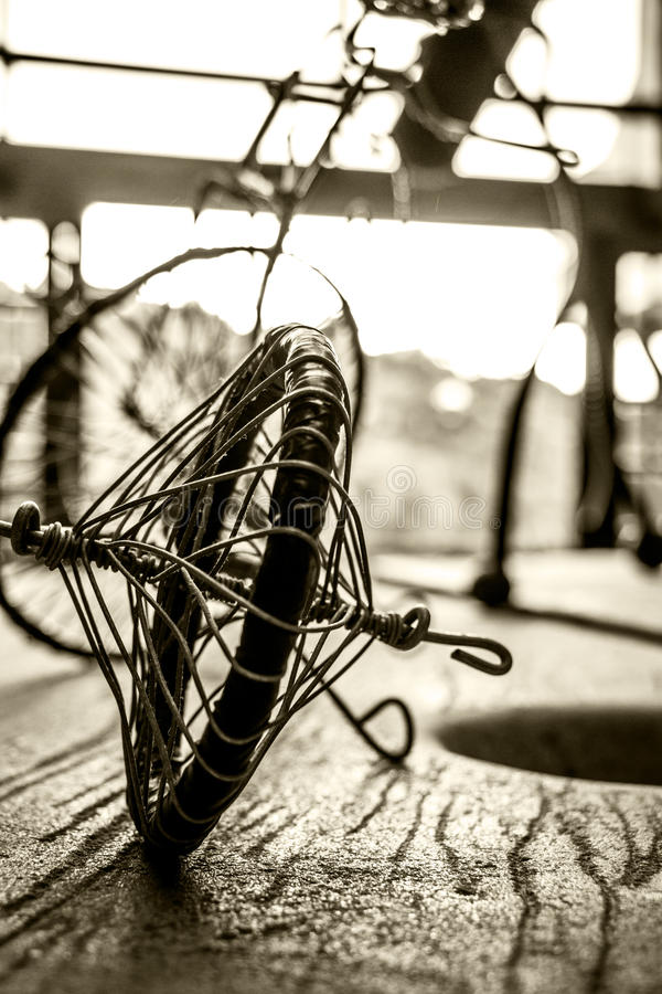 ποδήλατο που συνδέεται στοκ φωτογραφία με δικαίωμα ελεύθερης χρήσης