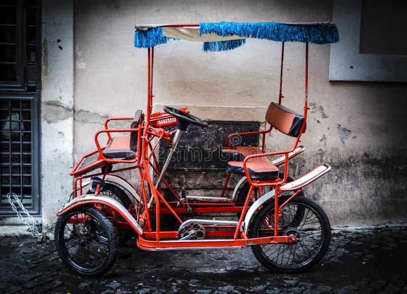 Ποδήλατο της Ρώμης στοκ φωτογραφία