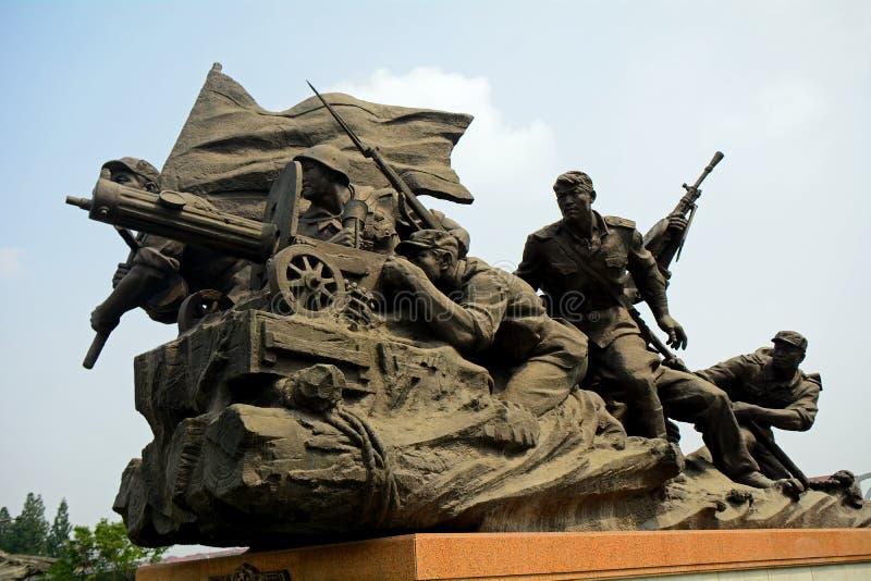 Πολεμικό μουσείο απελευθέρωσης, Pyongyang, Βόρεια Κορέα στοκ φωτογραφία με δικαίωμα ελεύθερης χρήσης