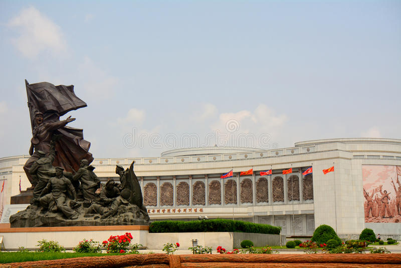 Πολεμικό μουσείο απελευθέρωσης, Pyongyang, Βόρεια Κορέα στοκ φωτογραφίες με δικαίωμα ελεύθερης χρήσης