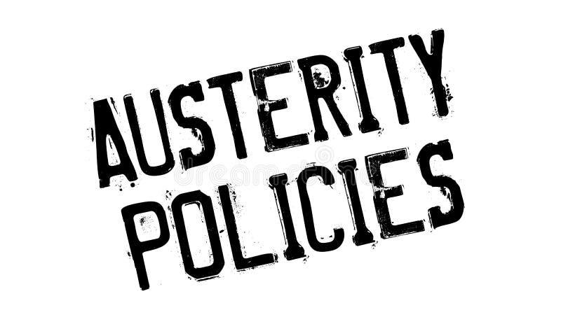 Πολιτική σφραγίδα αυστηρότητας ελεύθερη απεικόνιση δικαιώματος