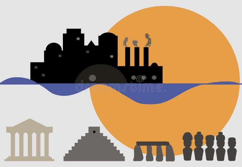 Πολιτισμοί απεικόνιση αποθεμάτων