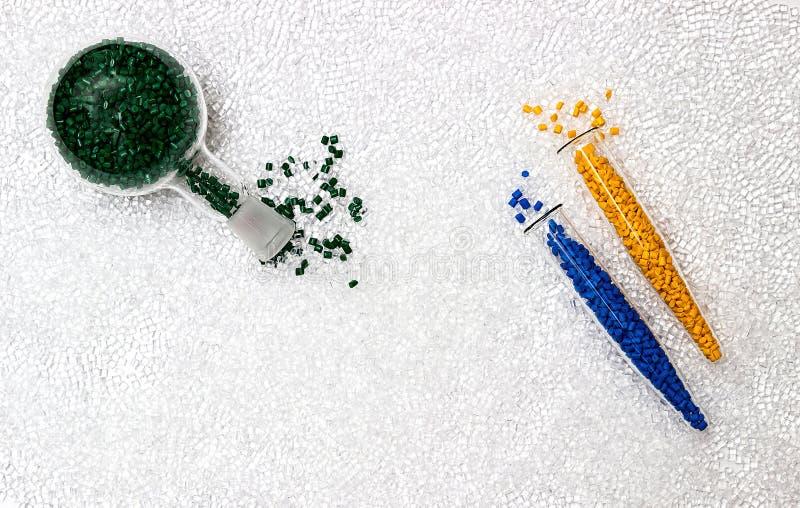 Πολυμερής χρωστική ουσία Χρωστική ουσία για τα πλαστικά Χρωστική ουσία στους κόκκους στοκ φωτογραφίες με δικαίωμα ελεύθερης χρήσης