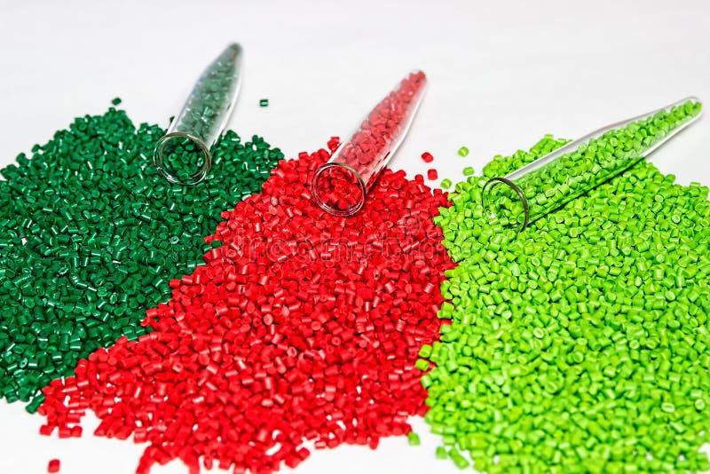 Πολυμερής χρωστική ουσία Χρωστική ουσία για τα πλαστικά Χρωστική ουσία στους κόκκους στοκ φωτογραφία