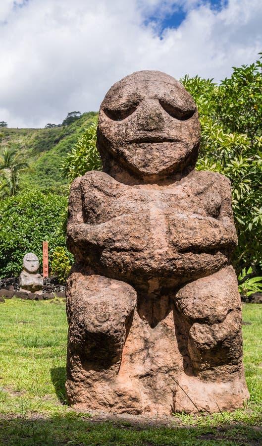Πολυνησιακός Θεός Tiki στοκ φωτογραφίες με δικαίωμα ελεύθερης χρήσης