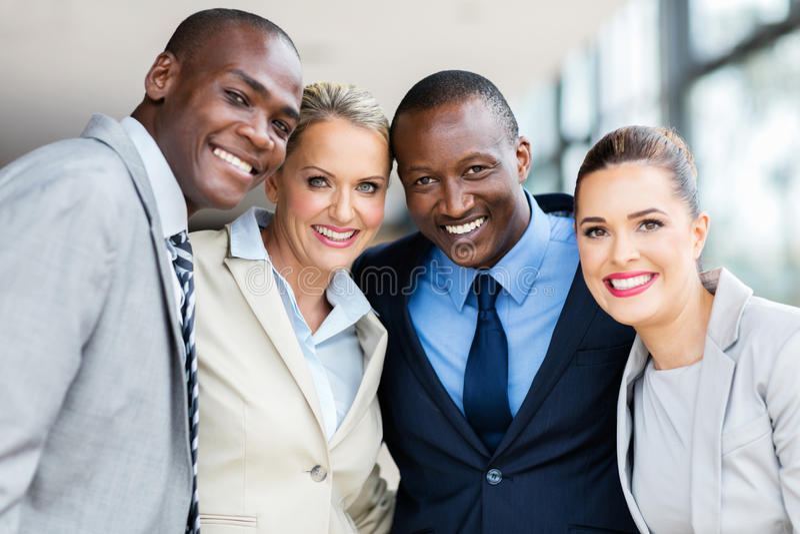 Πολυφυλετικό businesspeople στοκ εικόνες