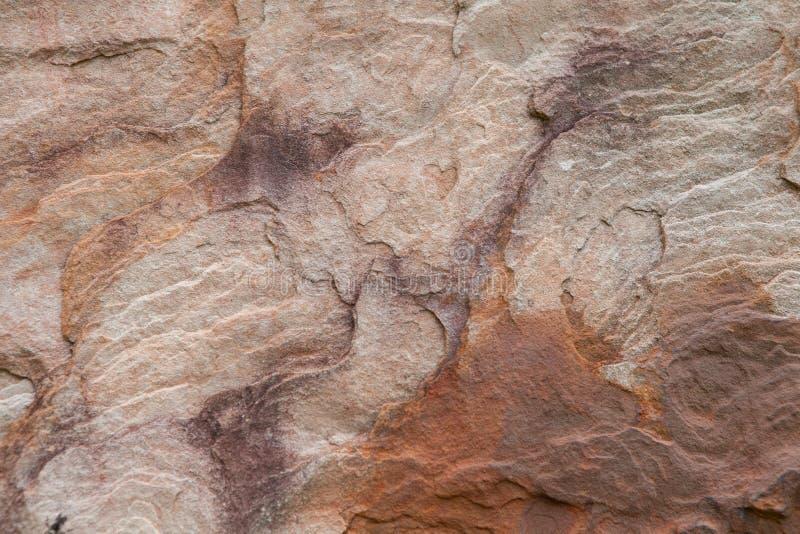 Πολυ υπόβαθρο πετρών άμμου χρώματος, τοίχος πετρών άμμου στοκ φωτογραφία με δικαίωμα ελεύθερης χρήσης