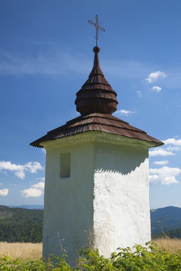 Πολωνία, βουνά Gorce, η λάρνακα κράσπεδων στοκ εικόνες με δικαίωμα ελεύθερης χρήσης