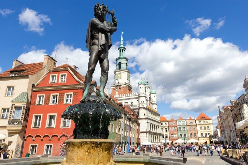 Πολωνία Πόζναν στοκ εικόνες με δικαίωμα ελεύθερης χρήσης