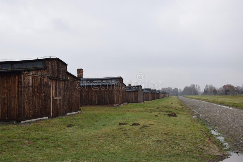 Πολωνία, στρατόπεδο συγκέντρωσης Auschwitz στοκ εικόνες