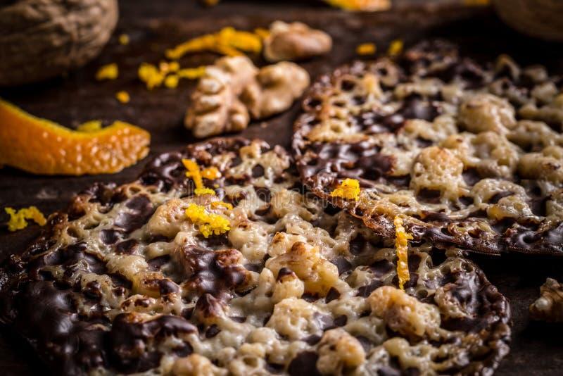 Πολωνικά Florentine μπισκότα στοκ εικόνα