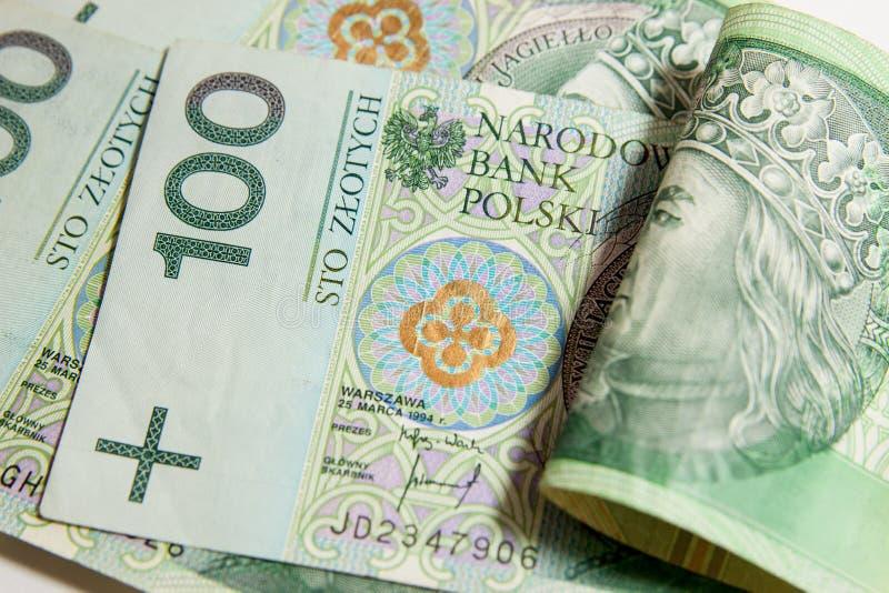 Πολωνικό νόμισμα στοκ εικόνες