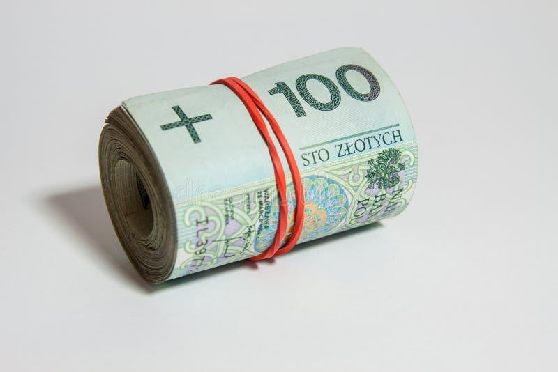 Πολωνικό νόμισμα - PLN - πολωνικός zloty στοκ φωτογραφία με δικαίωμα ελεύθερης χρήσης