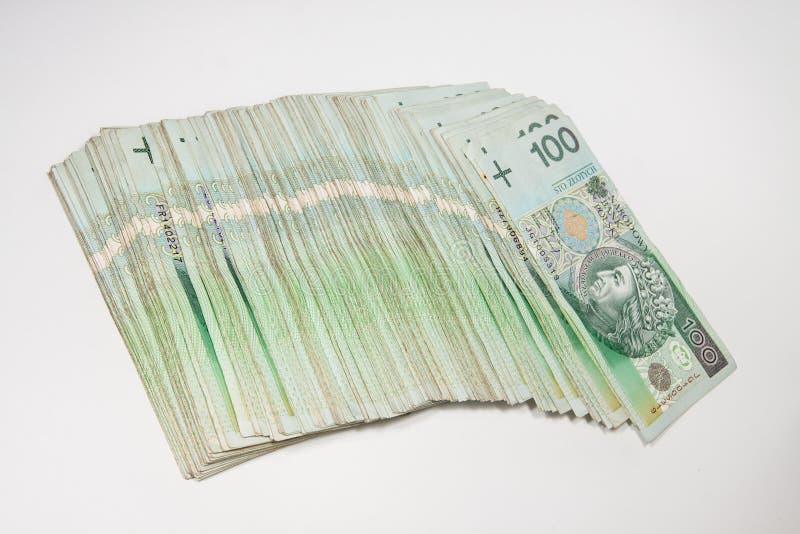 Πολωνικό νόμισμα 100 zloty στοκ φωτογραφία