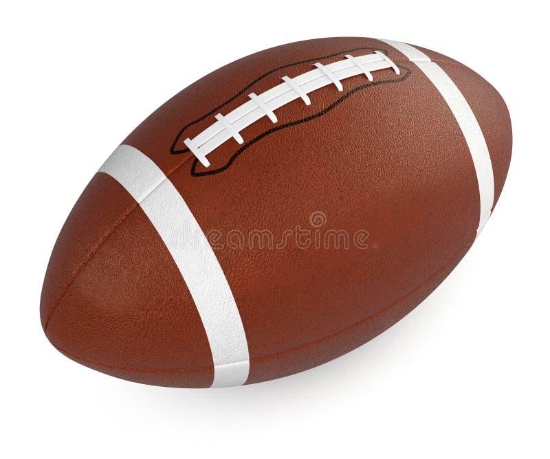 Ποδόσφαιρο και σφαίρα ράγκμπι διανυσματική απεικόνιση