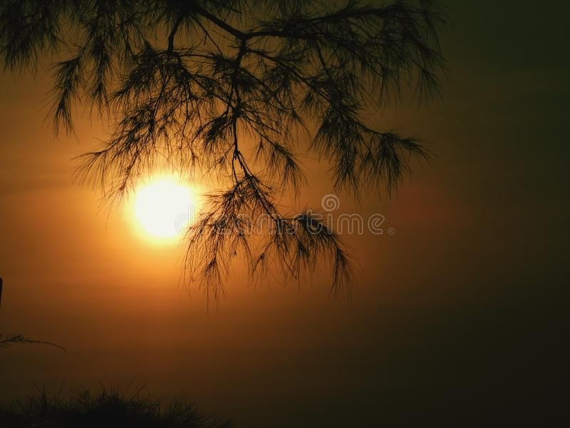 Πολύς μπορεί να συμβεί πέρα από το ηλιοβασίλεμα! στοκ εικόνες με δικαίωμα ελεύθερης χρήσης
