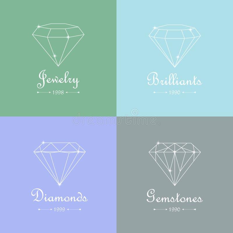 Download Πολύτιμοι λίθοι, διαμάντι και Brilliants Διανυσματική απεικόνιση - εικονογραφία από πολύτιμος, ποδηλατών: 62719529