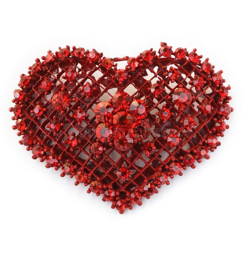 Πολύτιμος λίθος καρδιών στοκ εικόνες