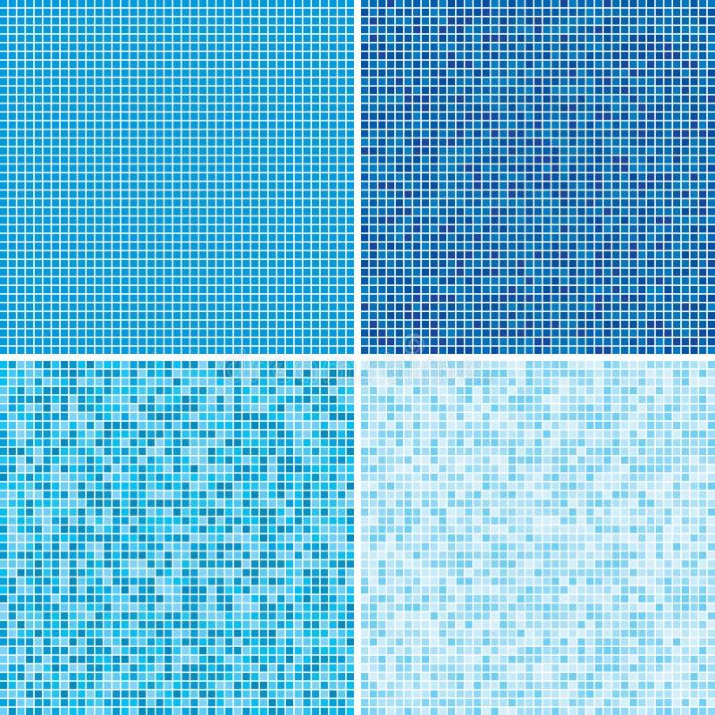 Πολύχρωμα κεραμίδια μωσαϊκό 10 eps ελεύθερη απεικόνιση δικαιώματος
