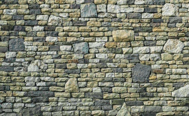 Πολύχρωμη σύσταση τοίχων πετρών στοκ εικόνες