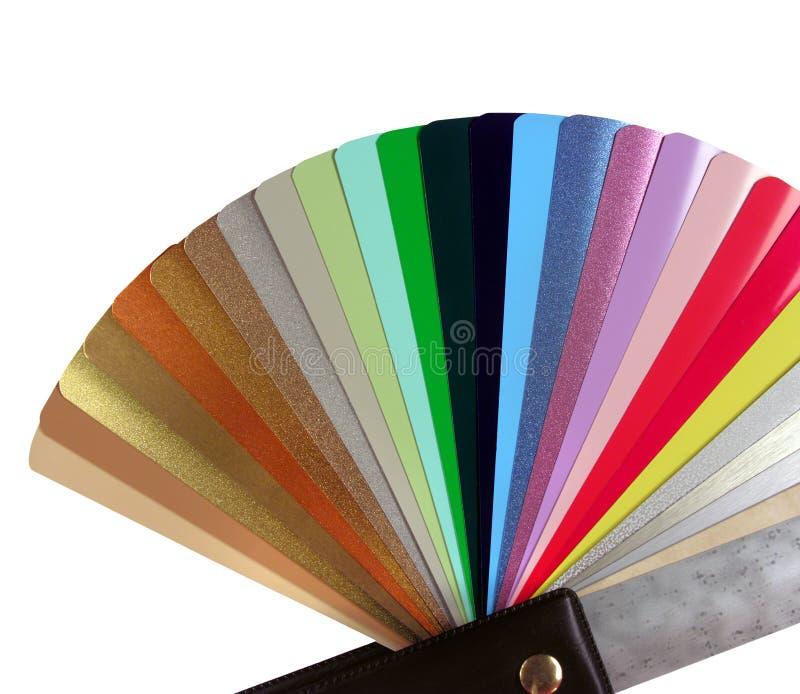 Πολύχρωμο ενετικό όργανο διαγραμμάτων χρώματος τυφλών για το designe στοκ φωτογραφίες με δικαίωμα ελεύθερης χρήσης