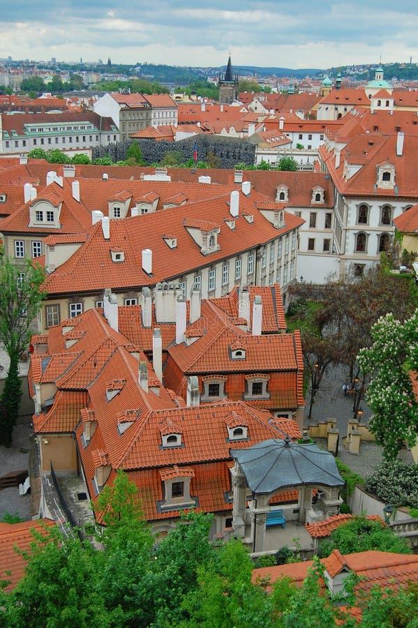 Πράγα αρχιτεκτονική μεσαιωνική στοκ φωτογραφία με δικαίωμα ελεύθερης χρήσης