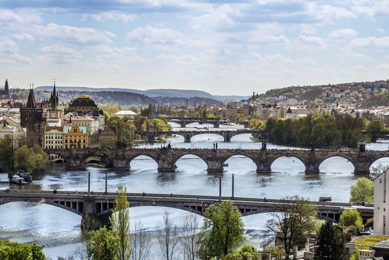 Πράγα, Δημοκρατία της Τσεχίας στοκ εικόνες