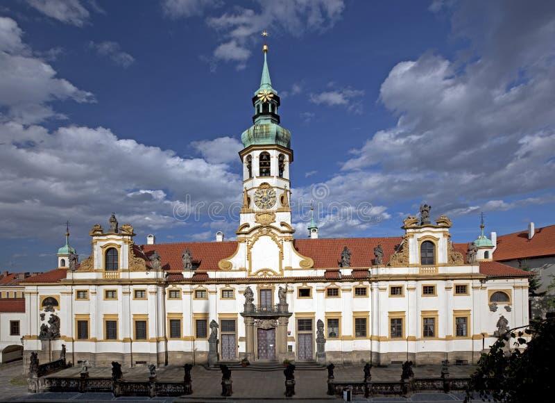 Πράγα, παλάτι Loreta στοκ φωτογραφία με δικαίωμα ελεύθερης χρήσης