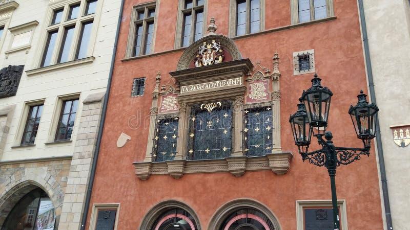 Πράγα, παλαιό κτήριο στοκ φωτογραφία με δικαίωμα ελεύθερης χρήσης