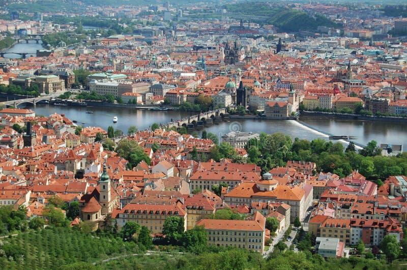 Πράγα cesky τσεχική πόλης όψη δημοκρατιών krumlov μεσαιωνική παλαιά Παλαιά πόλη, εικονική παράσταση πόλης στοκ φωτογραφία