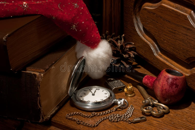 πράγματα santa Claus στοκ φωτογραφίες με δικαίωμα ελεύθερης χρήσης