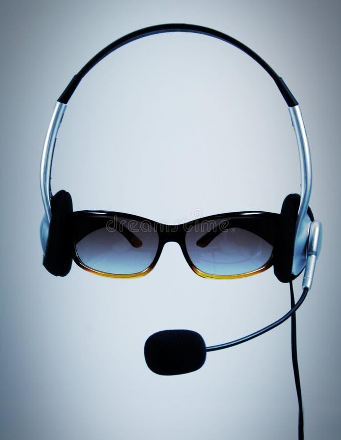 πράκτορας callcenter στοκ εικόνα