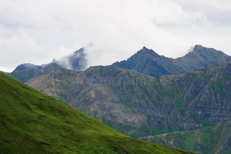 πράσινα βουνά στοκ εικόνα