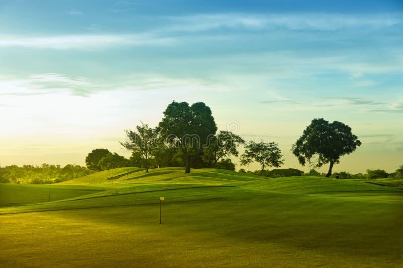 πράσινα γκολφ στοκ φωτογραφίες με δικαίωμα ελεύθερης χρήσης
