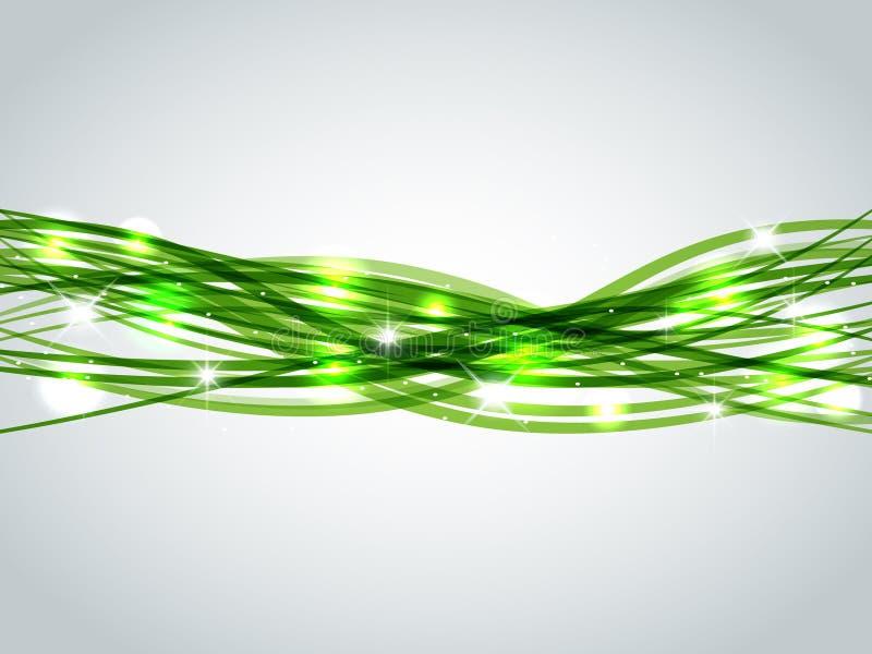 πράσινα λωρίδες απεικόνιση αποθεμάτων