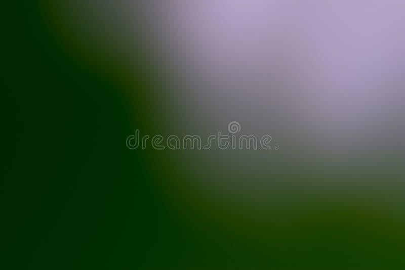 Πράσινα, μαύρα και ανοικτό μωβ ομαλά και θολωμένα ταπετσαρία/υπόβαθρο στοκ εικόνα