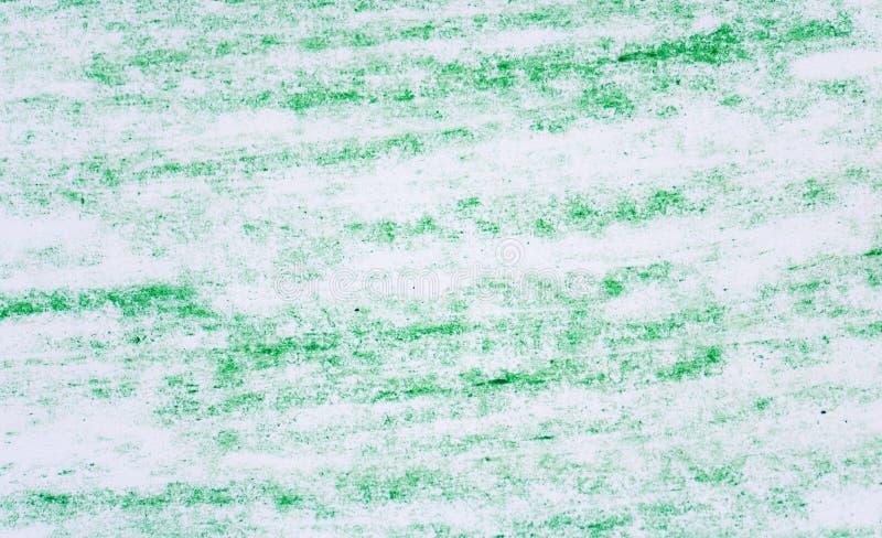 Πράσινα σχέδια σύστασης κραγιονιών στη Λευκή Βίβλο στοκ εικόνες