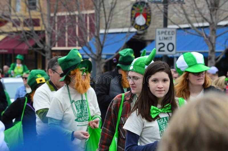 Πράσινα Berets στοκ εικόνα