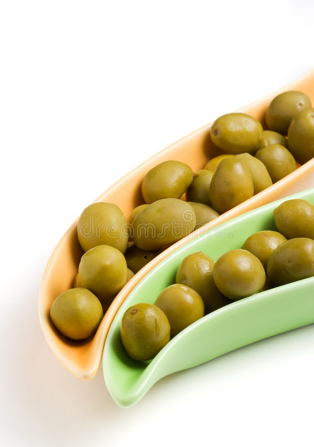 πράσινες ελιές στοκ εικόνα με δικαίωμα ελεύθερης χρήσης