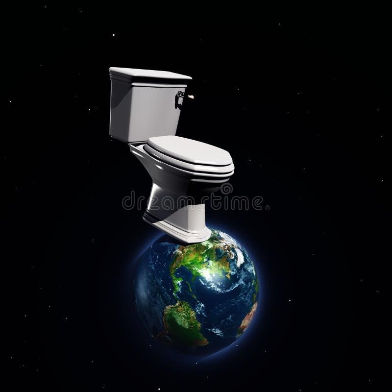 Πράσινες οικολογία και φύση πλανητών ελεύθερη απεικόνιση δικαιώματος