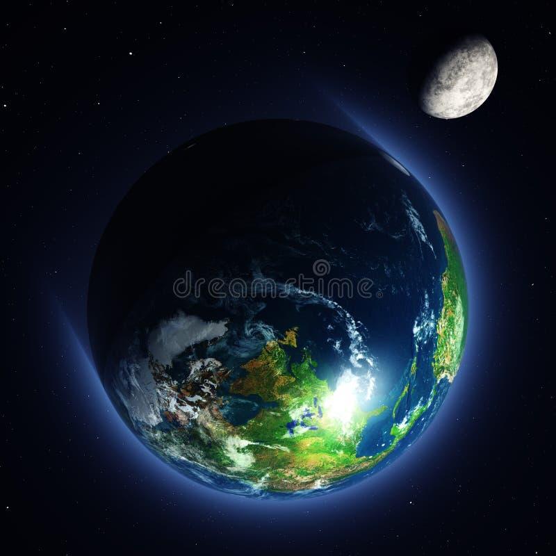 Πράσινες οικολογία και φύση πλανητών στοκ φωτογραφία