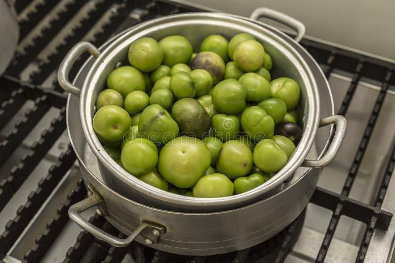 Πράσινες juicy ντομάτες στοκ φωτογραφίες με δικαίωμα ελεύθερης χρήσης