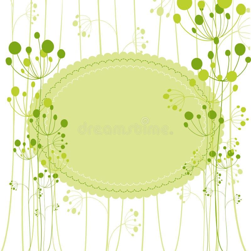 πράσινη άνοιξη χαιρετισμού &p ελεύθερη απεικόνιση δικαιώματος