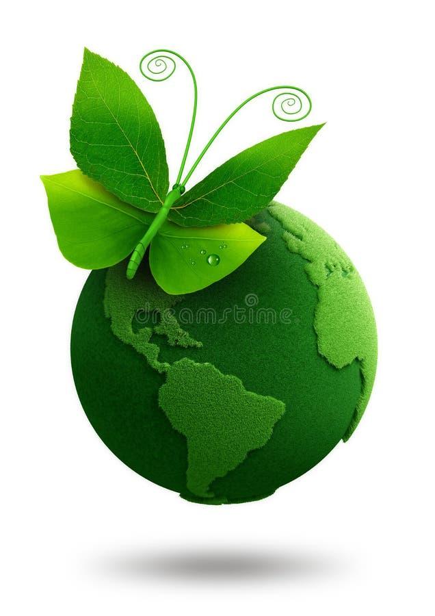 Πράσινη έννοια απεικόνιση αποθεμάτων