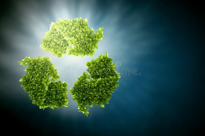 Πράσινη έννοια Eco στοκ φωτογραφίες με δικαίωμα ελεύθερης χρήσης
