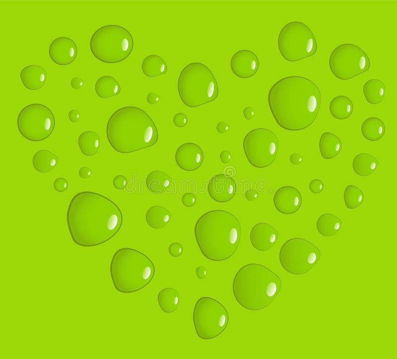 πράσινη αγάπη απεικόνιση αποθεμάτων