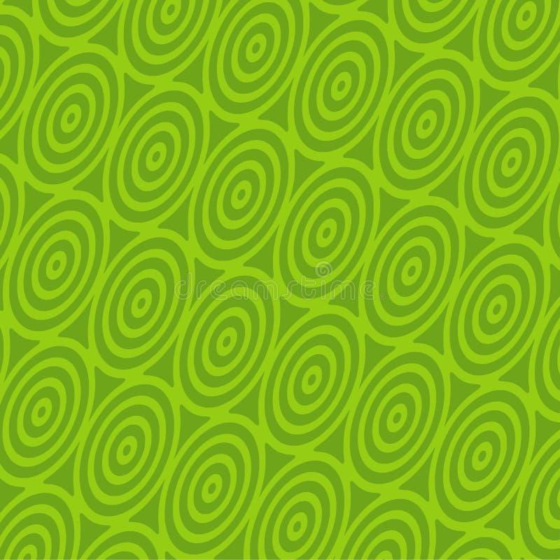 πράσινη αναδρομική σπείρα &alph στοκ εικόνα με δικαίωμα ελεύθερης χρήσης