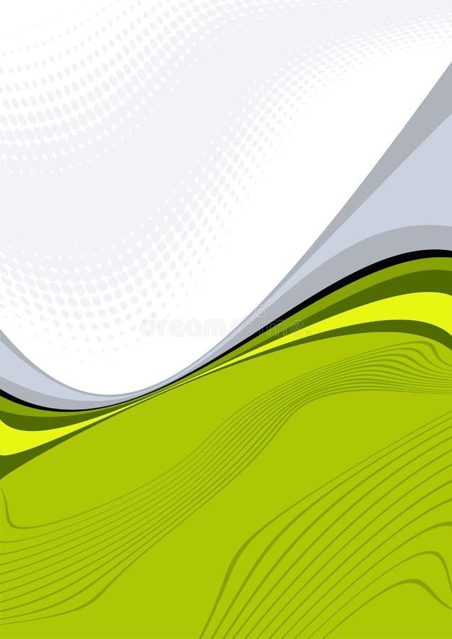 πράσινη απεικόνιση κυματι&s ελεύθερη απεικόνιση δικαιώματος